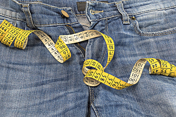 Trousers are measured in centimetres in Europe and inches in the USA. You can look them up in the trousers size chart on this page.