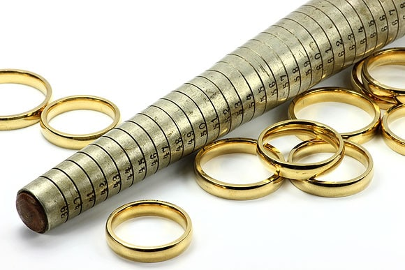 Ring Size Calculator + How to Measure Ring Sizes at Home + Charts