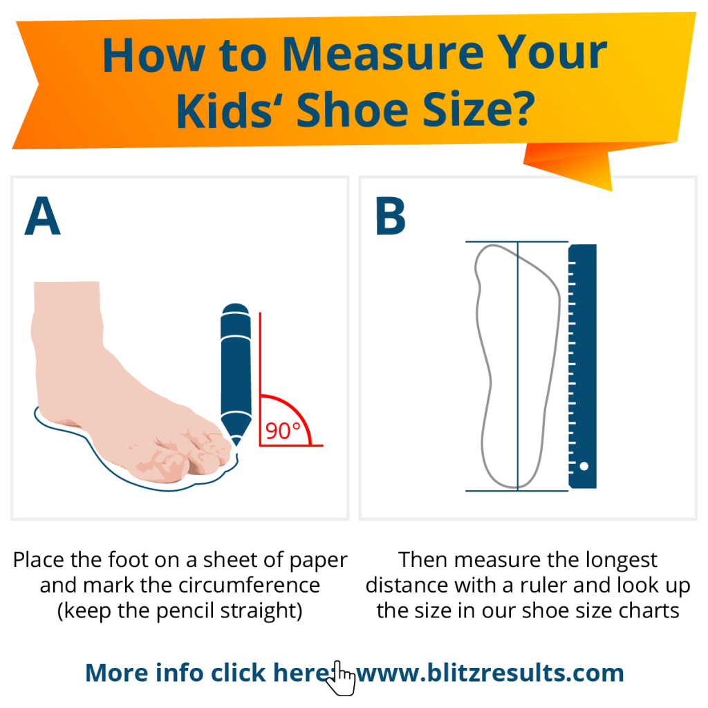 How to Measure Your Kids' Shoe Size