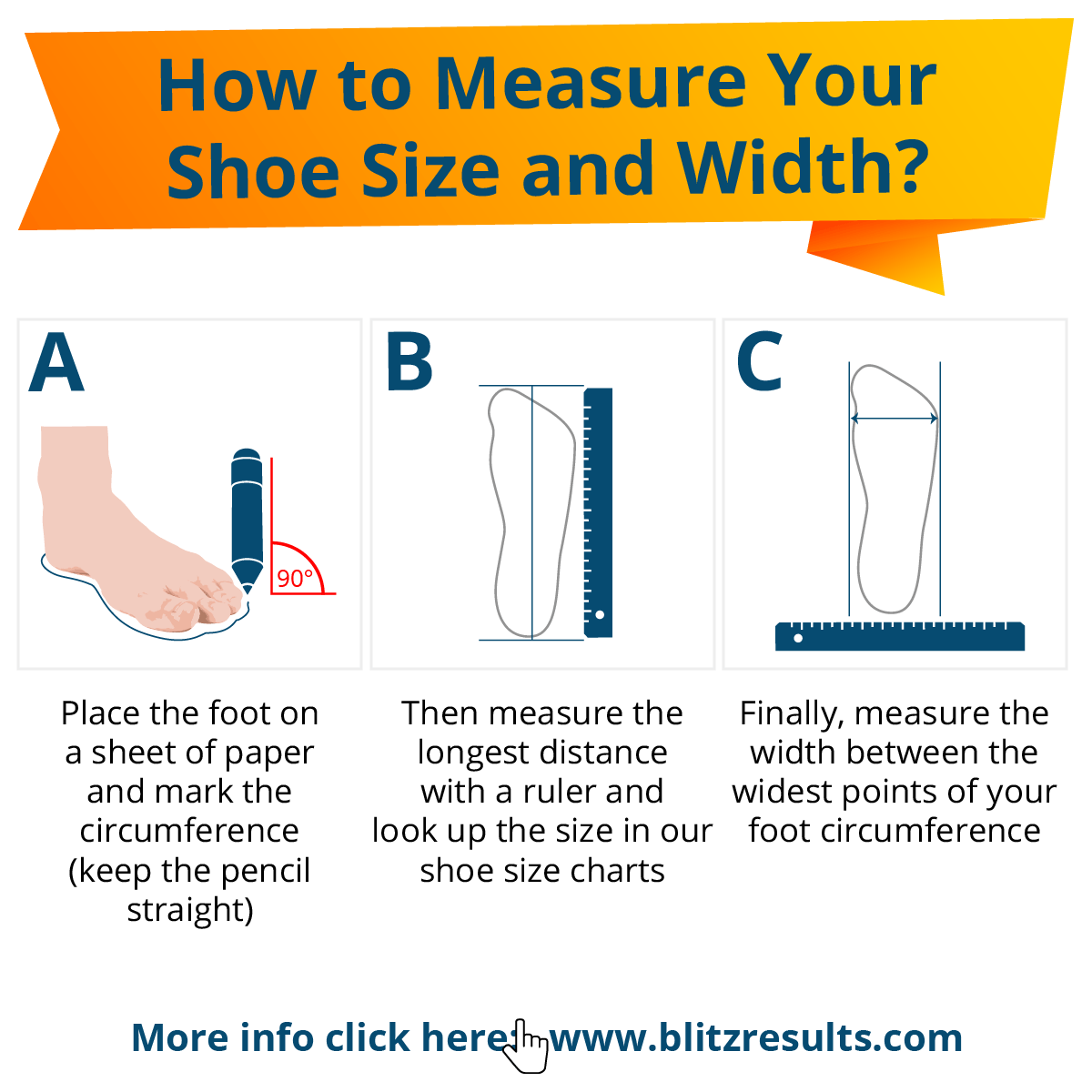 How to Measure your Shoe Size and Width at Home
