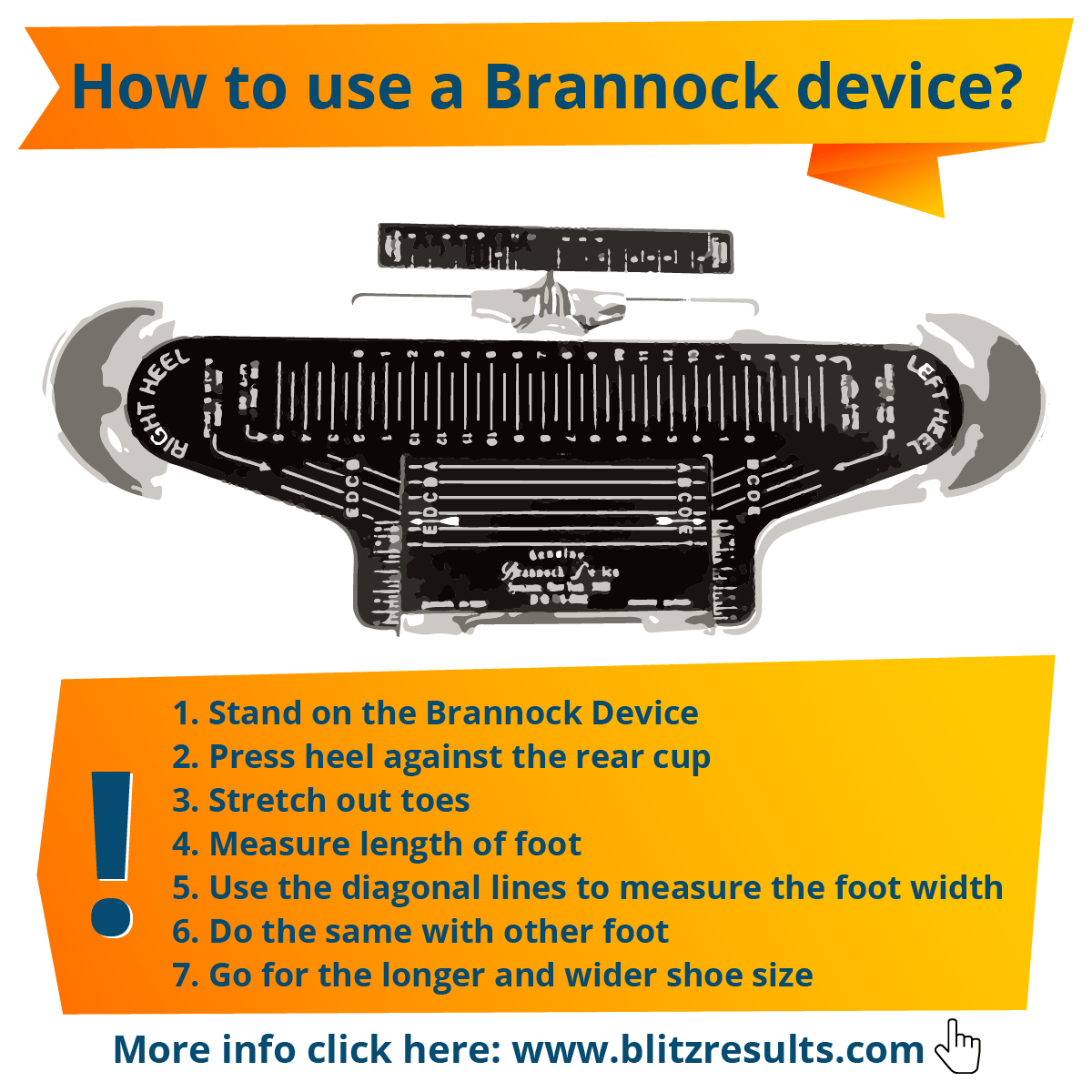 How to use a Brannock Device?