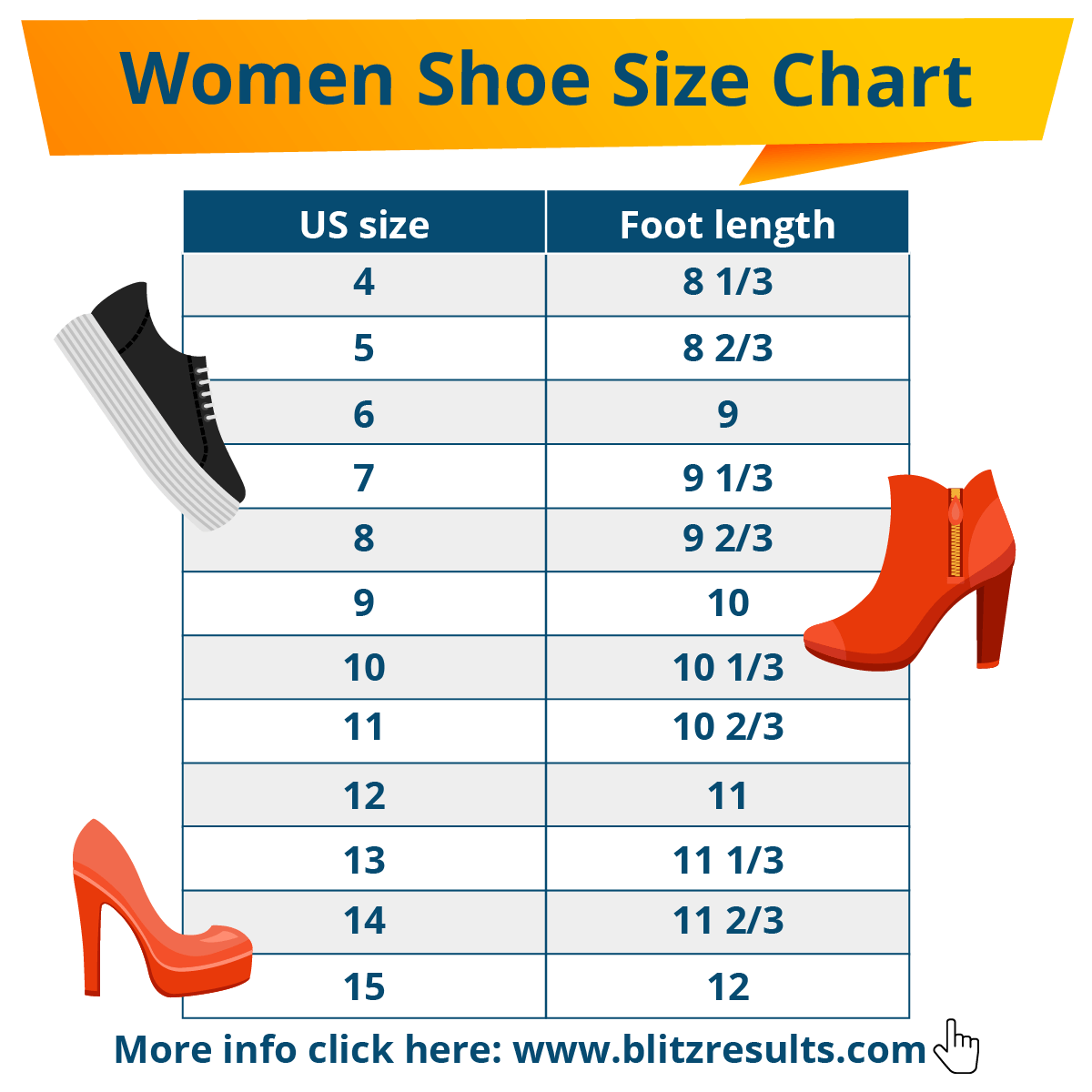 ᐅ Shoe Sizes Shoe Size Charts, Men \u0026 Women, How to Measure