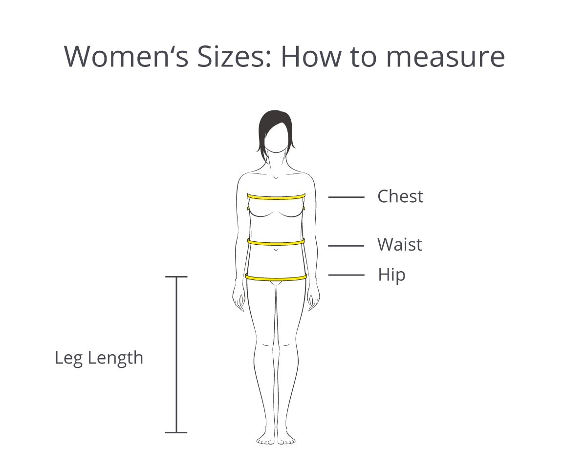 Women S Clothing Size Chart Standard